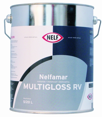NELFAMAR MULTIGLOSS RV WIT, 5 ltr.  5 LITER